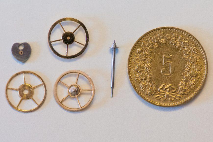 Rekonstruktion eines Chronographen-Mechanismus