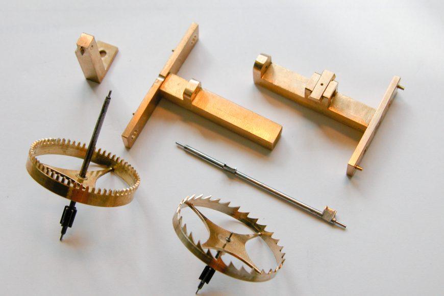 Umbau eines Uhrwerks auf originale Spindelhemmung